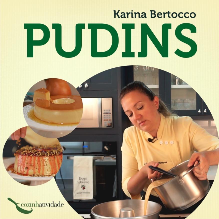 curso pudim Karina Bertocco